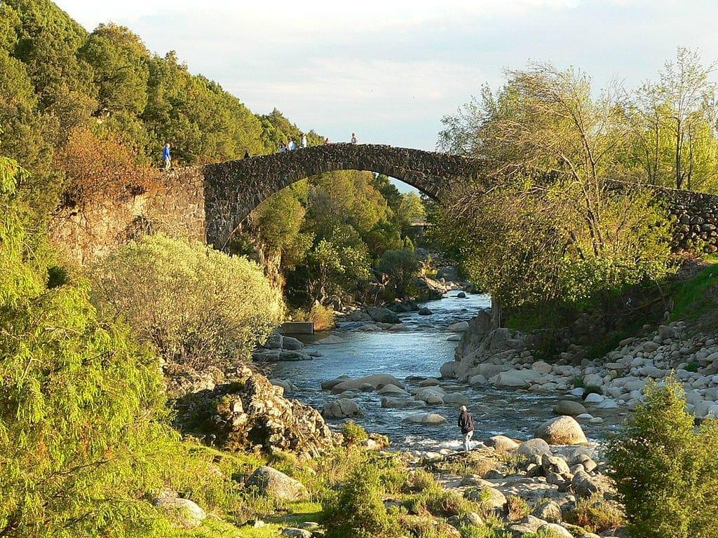 Piscinas naturales de Madrigal de la Vera, Cáceres, Extremadura