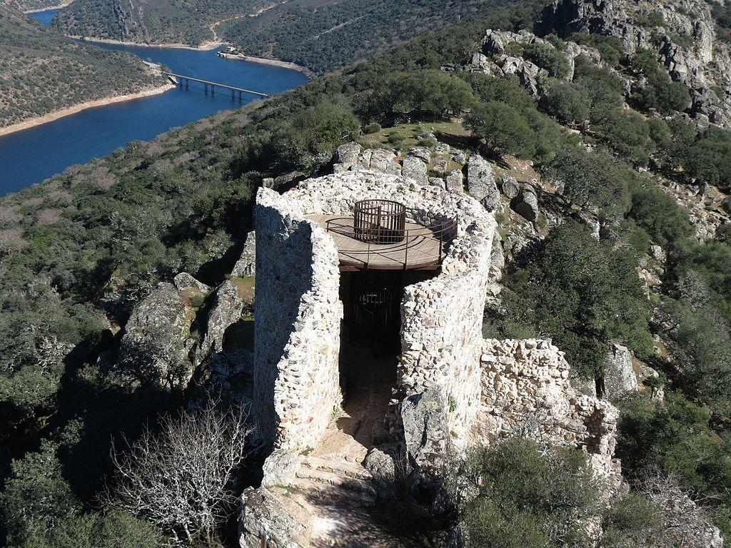 Castillo de Monfragüe, Cáceres, Extremadura