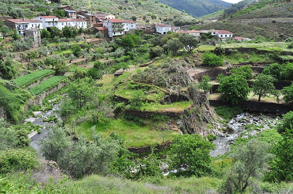 Casares de las Hurdes, Las Hurdes, Cáceres, Extremadura